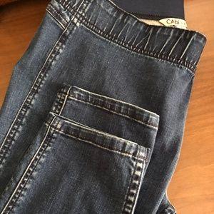 CAbi 10 Side-Zip Pull-On Jegging EUC